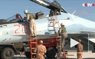 Российские летчики в Сирии рассказали о своих буднях на авиабазе Хмеймим