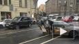 На Суворовском SAAB-нарушитель смяли на половину в массо...