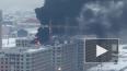 На Митрофаньевском шоссе горит строящийся жилой комплекс