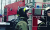 Появилось видео, как в Москве загорелся Пушкинский музей