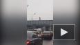 Петербургский роллер-гитарист прокатился по мосту ...