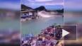 Момент обрушения моста под бензовозом на Тайване попал н...
