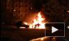 Ночью в Калининском районе сгорела машина