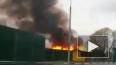 Жуткое видео из Ярославля: загорелся дом возле АЗС