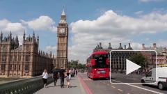 ВВП Британии упал на рекордные 9,9%