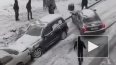 Зима пришла: коллапс из-за снегопада в Москве, метель ...