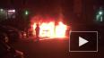 На Комендантском и Демьяна Белого ночью горели машины