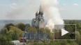 Видео: в Сестрорецке загорелся частный дом