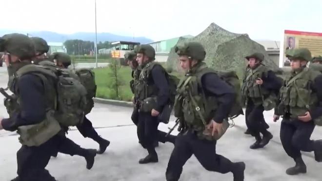 Появилось видео блестящего начала внезапной проверки армии России