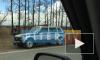 В Малом Карлино легковушку выбросило на обочину после ДТП с внедорожником