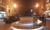 На Большой Морской установили фонтан с подсветкой