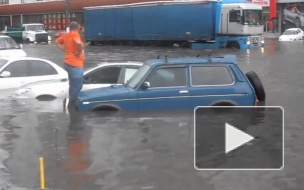 """""""Небольшой дождь"""" превратил Одессу в Венецию"""