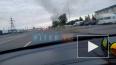 Видео: на Софийской утром горели бытовки