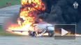 Появилось полное видео авиакатастрофы SSJ-100 в Шереметь...