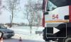 Видео: на Петербургском шоссе столкнулись две иномарки, водитель погиб
