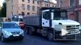 ДТП на Карповке: Скания не поделила дорогу с трамваем
