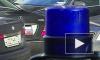 Водители заблокировали авто ВИПа из Калмыкии, не давая скрыться с места ДТП в Москве