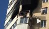 Пожар разбушевался в квартире дома на Октябрьской набережной