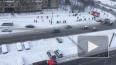 На Сизова произошел пожар: пострадали два человека