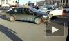 Видео: на пересечении Невского и Михайловской столкнулись три машины
