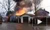 Видео: в Ленобласти вспыхнул дом 90-летней бабушки