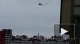 Петербуржцы сняли установку труб с помощью вертолета ...