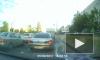 На Бухарестской светофор накрыл иномарку
