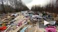 Жители Невского района жалуются на огромную свалку ...