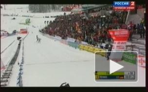 Российские биатлонистки остались без медалей масс-старта в Холменколлене