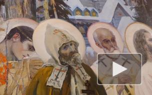 """Как выглядит отреставрированная """"Святая Русь"""" в Русском музее"""