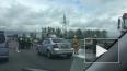 Машина врезалась в автобус на Пулковском: за пострадавшими ...