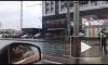 Во Фрунзенском районе перевернулся фургон. Собирается страшная пробка