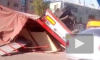 Жуткое видео из Смоленска: перекресток не поделили 4 авто