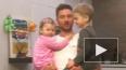 Лазарев показал на видео подросших детей