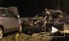 В сети появились жуткие кадры тройного ДТП в Удмуртии