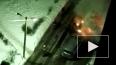 Очевидец снял горящий автомобиль в Химках
