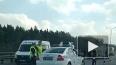 """Ужасающее видео из Москвы: маршрутка протаранила """"ГАЗель..."""