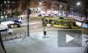 Столкновение городского автобуса и троллейбуса в Перми попало на видео