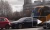 """Еще одно ДТП с дорогим авто: на углу Типанова и Космонавтов столкнулись """"БМВ"""" и огромный автобус"""