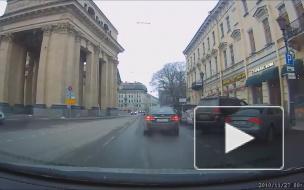 Сбил пешехода на Казанской.