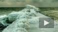 Замерзшее Черное море поражает фантастической красотой