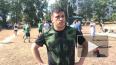 Видео: любители спорта из Высоцка отметили день физкульт...