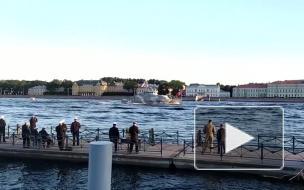В Петербурге прошла третья репетиция Главного военно-морского парада