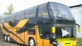 Двухэтажный автобус сгорел в Москве, двое погибли