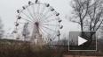 Видео: Штормовой ветер раскрутил колесо обозрения ...