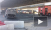 Видео: на Пулковском шоссе –страшная авария с перевертышем