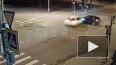 Появилось видео ночного ДТП в Пушкине