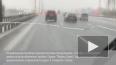 В Петербурге на Тихорецком эвакуатор врезался в трамвай
