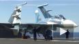 В Черное море упал истребитель Су-27