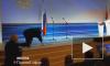 Появилось видео, как Жириновский упал на инаугурации губернатора